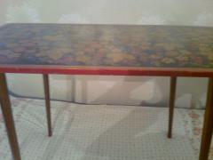 "Beautiful wooden coffee table ""Khokhloma"""