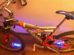 Brand Mountain Bike Ardis 20 with cool Night Lighting