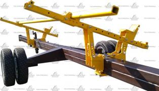 Cart for transportation of harvesters VTZH (uniaxial) 4 to 6, 5 m