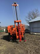 Drilling rig HMD 1 on the basis of ZIL 131