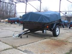 Passenger trailer Ant 1.8 m from the manufacturer