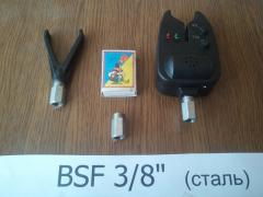 Рибальська гайка, болт для Рід Пода BSF 3/8 дюйма для вкручування